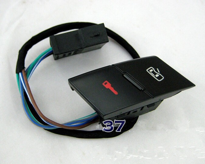 1998 -2004 Front Left Door Lock Unlock Control Switch BUTTON FOR AUDI A6 S6 C5 <font><b>Allroad</b></font> 4B1 962 107 image