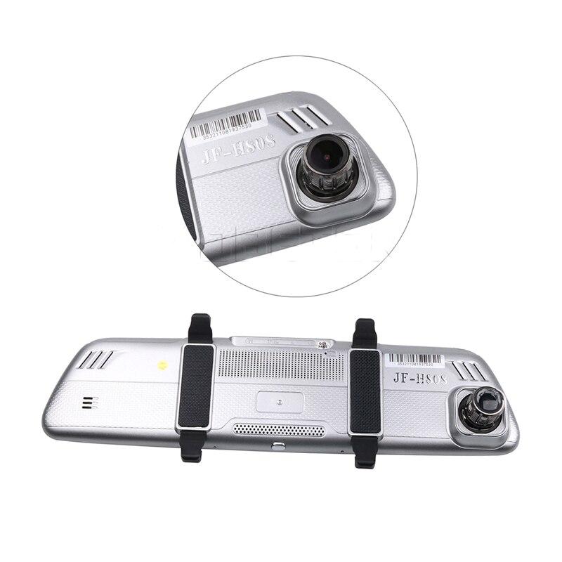 Allwinner Android Car DVR 8 Pollici ADAS Touch Screen Dash Cam Specchio Retrovisore Dash Fotocamera Dual Lens GPS di Navigazione wifi Bluetooth - 4