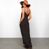 SMDPPWDBB Fashion Womens Summer Long Beach Dresses Casual Loose Maternity Sleeveless Wave Printed Sexy Skirt With Shoulder-Strap