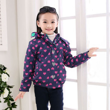 2020 Autumn Winter Waterproof Windproof Children Outerwear Baby Girls Jackets Kids Coat Warm Polar Fleece Hooded For 3-12 year 2020 autumn winter waterproof windbreaker girls jacket for child hooded star polar fleece girls outerwear coat 3 12t kids jacket