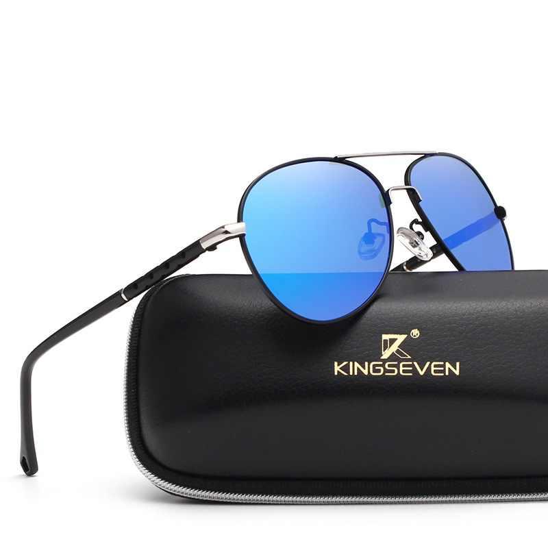 3b39f17805fa 2017 New Arrival KINGSEVEN Polarized Sunglasses Men/Women Brand Designer  Male vintage Sun Glasses gafas