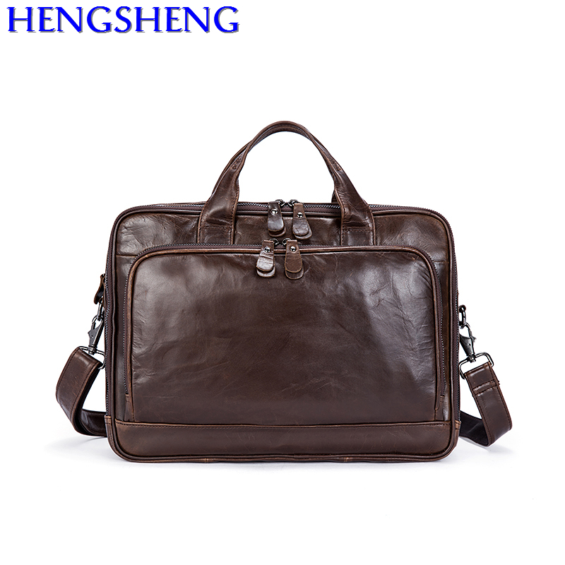 Free Shipping cheap genuine leather men shoulder bag for travelling bag by quality cow leather men handle bag and laptop caseFree Shipping cheap genuine leather men shoulder bag for travelling bag by quality cow leather men handle bag and laptop case