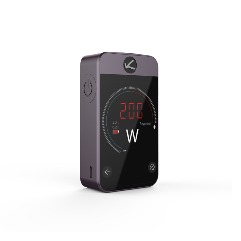Original E-Cigarettes Kanger Pollex TC Box MOD 200W Kangertech Pollex Vape Built-in 3500mAh Battery 2.4 inch Touch Screen vapor