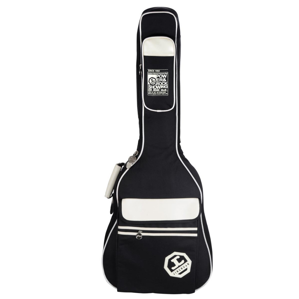 Universal 36 39 41 inch Folk guitar package Acoustic Guitar Double Straps Padded Guitar Soft Case Bag Waterproof Backpack