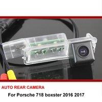 Para Porsche boxster 718 2016 2017 car câmara de visão traseira trasera Auto reverso backup estacionamento Night Vision HD À Prova D' Água