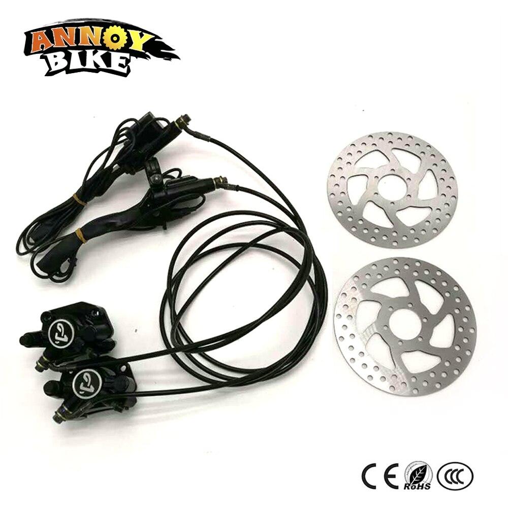 Harley hydraulique disque de frein électrique moto scooter accessoires avant et arrière pompe de frein ensembles pour scooter