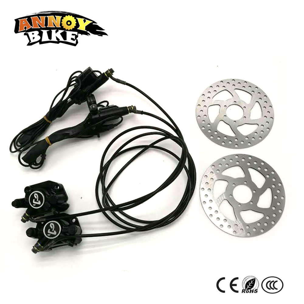 Hydraulic Brakes For Bikes Electric Motorcycle Scooter Freio A Disco  Bicicleta Accessories Front and Rear Brake pump sets