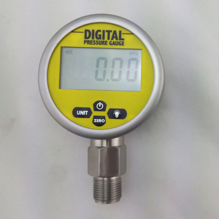 80mm 0-25Mpa(3525PSI) Stainless Steel Digital Electric Pressure Gauge Meter Manometer as510 cheap pressure gauge with manometer 0 100hpa negative vacuum pressure meter
