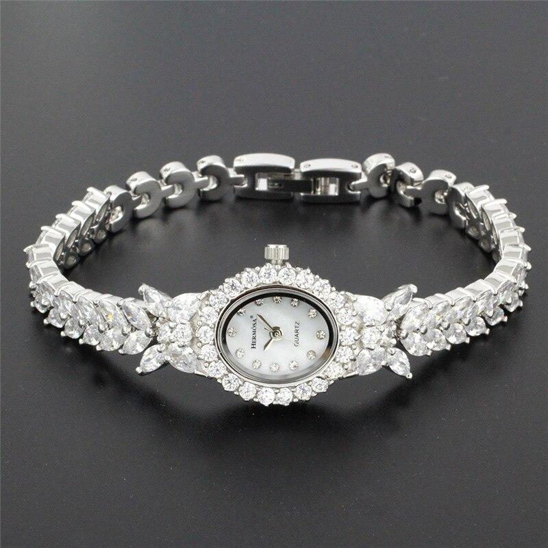 Parfait femmes montre-Bracelet à Quartz mode bijoux montre pour dame fête Bracelet 8 pouces HS0013W
