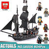 New LEPIN Pirates Of The Caribbean The Black Pearl Building Blocks Educational Funny Set 4184 Toy