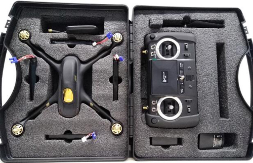 Hubsan H501S H502S H502E H501C H507A quadcopter drone parts storage bag carrying case box 2017 H501S upgrade version accessories spark storage bag portable carrying case storage box for spark drone accessories can put remote control battery and other parts