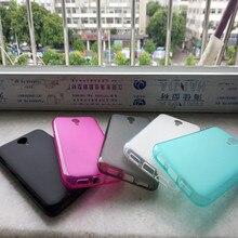 Transparent clear case for Homtom HT3 pro 5.0″ shell phone house fundas Original for Homtom HT3 2016 soft tpu matte cover