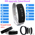 H8 upgrade Smart Bracelet Bluetooth 4.0 Pedometer H8 plus IPX5 waterproof Smartband Wristband Android iOS pk Xiaomi mi band 2