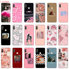 Lavaza Pink Aesthetics  Aesthetic Hard Phone Case for Xiaomi Redmi 5A 5 Plus 6 Pro 6A cases for Redmi Note 5 6 7 Pro Cover redmi note 6 pro 3 32gb pink