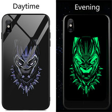 Marvel Avengers Black Panther iron Man Venom Batman Deadpool Case For iPhone 6 6s 7 8 Plus X Xs Max Xr Spiderman Phone Cover