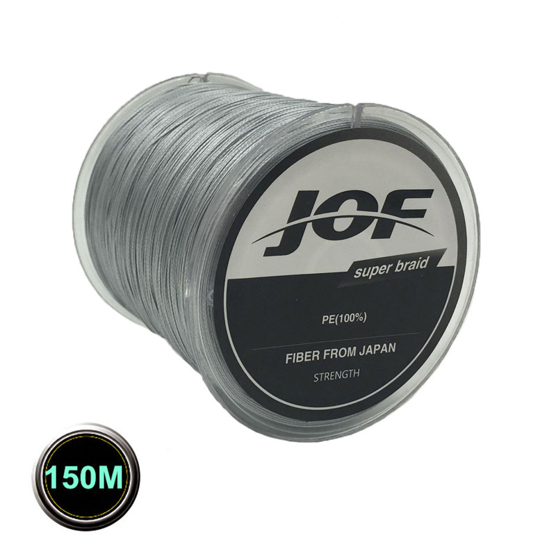 8 Strands 150M Super Strong Japan Multifilament PE Braided Fishing Line Fly Lines Backing 30 40 50 60 80 120 150 200LB
