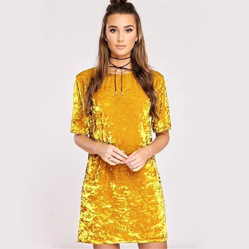 Spring Summer velvet dress women short-sleeved HTB11Hj9lcLJ8KJjy0Fnq6AFDpXaS
