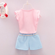 Infant Baby Girls Clothes Tops Pants