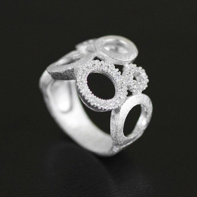 f56890cf4c91 CMAJOR Original 925 Plata de Ley aros anillo mujeres niñas hecho a mano  diseñador joyería fina al por mayor