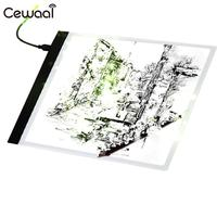 A4 Magnetic LED Painting Drawing Board LED Light Box Tracing Board Copy Table Blank Canvas Pads