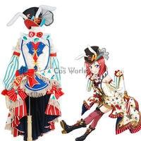 Love Live School Idol Project Nishikino Maki Circus Fancy Dress Uniform Outfit Anime Cosplay Costumes