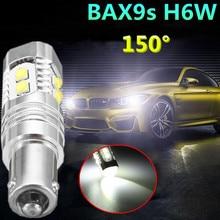 BAX9s автомобилей лампа сзади белый свет H6W 434 высокое Мощность указатель поворота Реверсивный Парковка Туман лампа