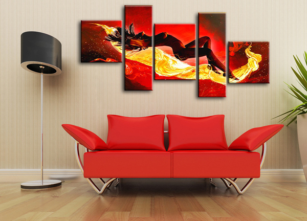 Aliexpresscom Buy Wall Hangings Nude Sexy Lady Oil Painting - Painting for bedroom
