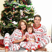 Family Look Pajamas Sets Family Clothing Christmas Set Promotion-Shop For Promotional In Matching Family Christmas Pajamas Sale(China)