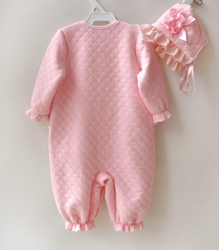 Bebé recién nacido ropa de niña de algodón de aire de invierno - Ropa de bebé - foto 2