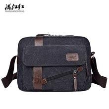Herrenmode Leinwand Business Reise Umhängetaschen Männlichen Koreanischen Stil Messenger Taschen Aktentasche Handtaschen Crossbody Taschen Für Mann