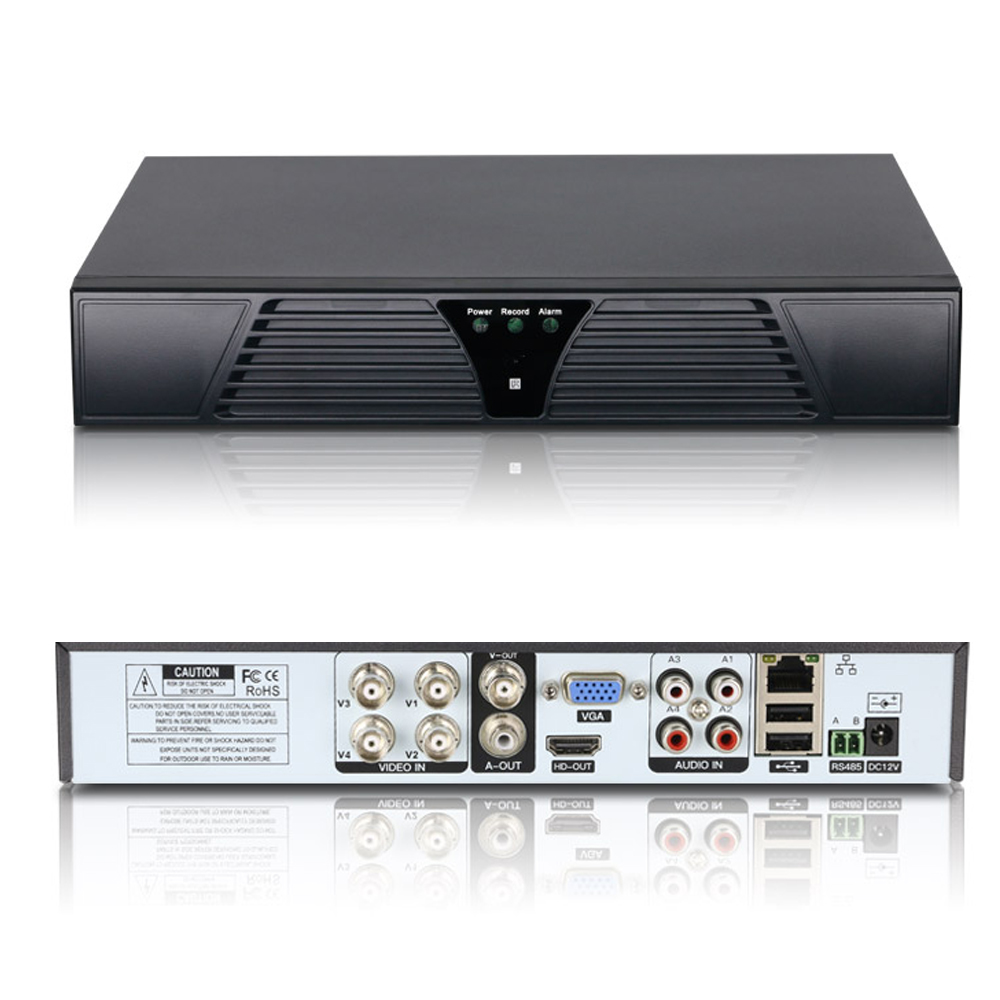 4Channel CCTV Security 1080N AHD XVI TVI CVI NVR DVR Video Recorder H.264 HDMI P2P HD DVR 4CH security 4ch ahd m dvr 8ch realtime 1080p nvr video recorder multi mode