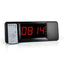 Original 2017 LCD Digital Display Wireless Bluetooth Speaker FM Radio Dual Alarm Clock TF Bluetooth Stereo Speaker For Xiaomi