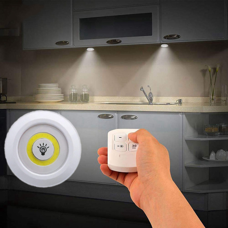 New Dimmable Led Under Cabinet Light, Bathroom Battery Light
