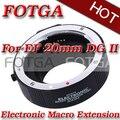 Оптовая Макро АФ Автофокус Автоматический Удлинитель 20 мм DG II для CANON EF EF-S Объектив