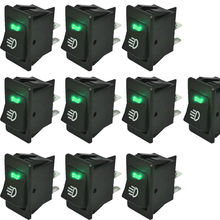 EE support 10 X 12V 35A Fog Light Switch Rocker Toggle Switc