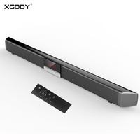 XGODY SR100PLUS Soundbar TV Home Theater With Subwoofer Remote Control System 40W Wireless Bluetooth Speaker With Cable For PC