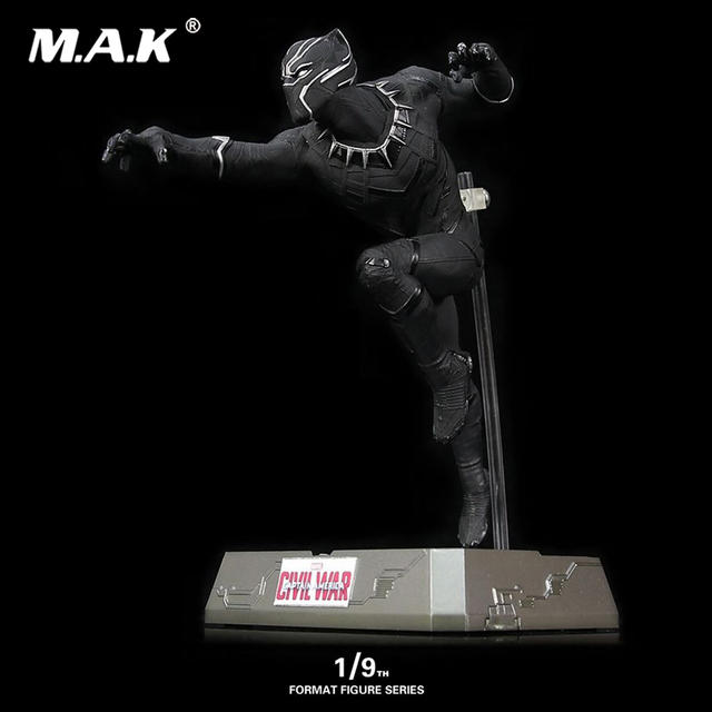 For Collection 1/9 Scale FFS007 Captain America 3 Static Panther Black Panther Format Collectible Figure Collectible Figure Set