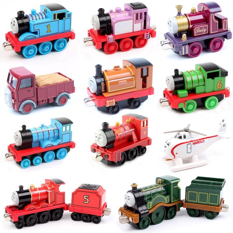Thomas and friends trains the tank tender metal engines train diecast models railway kids wheels boy