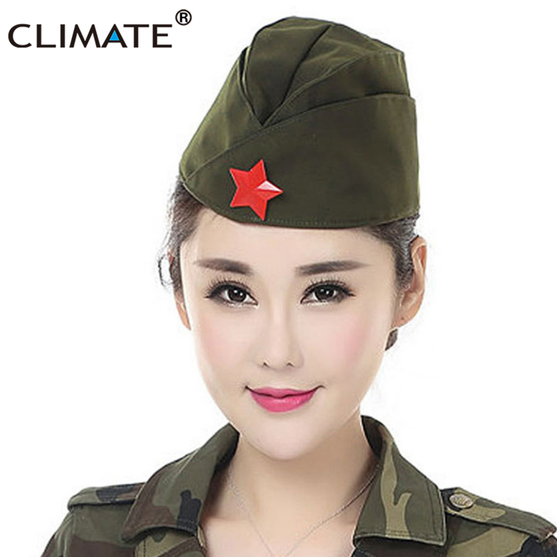 60066da82 CLIMATE Russian Soviet Red Army Red Star Military Garrison Caps ...