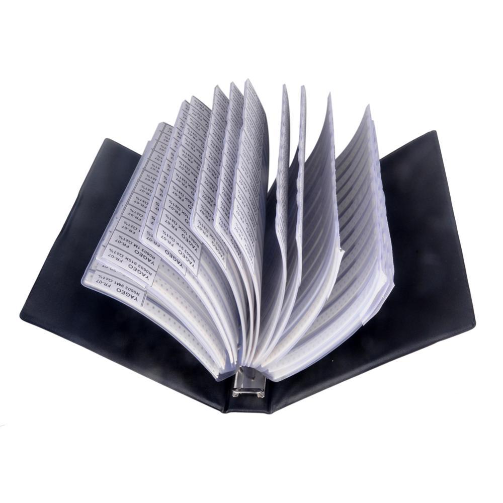 0603 SMD SMT Chip Capacitors Sample Book Assortment Kit Lot 90 Values Assorted MuRata GRM188 FZ2554