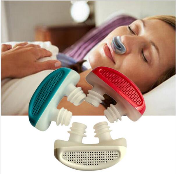 Pro Health Care Anti Snore Nose Clip Breathing Aratus Air Purifier Breathe Easy Relieve