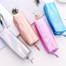 Iridescent Laser school Pencil Cases for girls Cute pen bag pencil box stationery pouch Bts office school supplies zakka термосумка thermos beauty series poptop dual red 469243