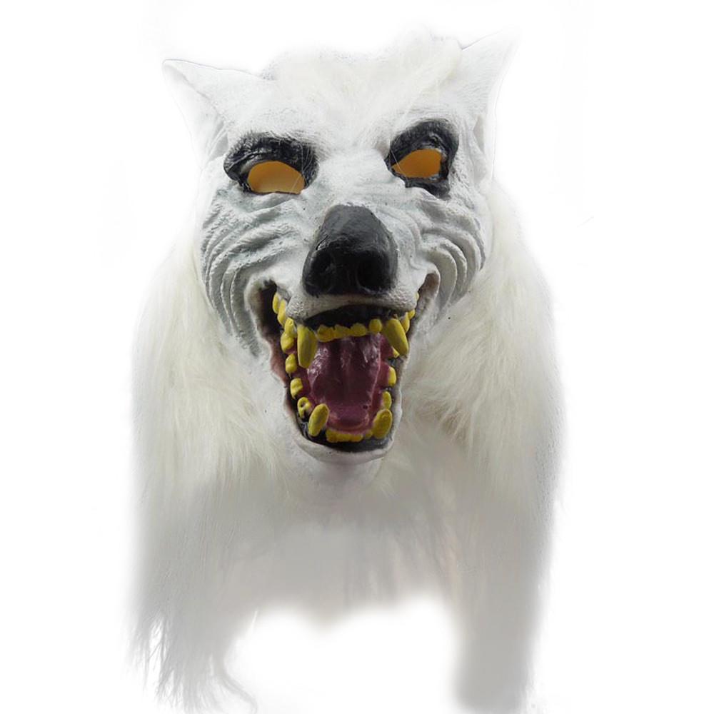 Latex Wolf Mask Promotion-Shop for Promotional Latex Wolf Mask on ...