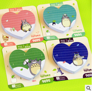 Totoro Self-Adhesive Sticky Notes