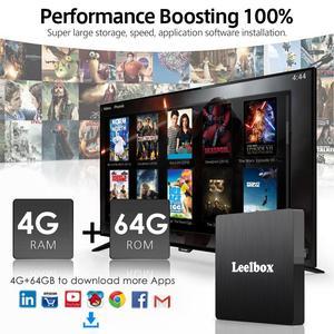 Image 2 - アンドロイド 9.0 スマート Tv ボックス Android 9.0 4 ギガバイト 64 ギガバイト RK3328 クアッドコア Q4 最大 2.4 3g Wifi H.265 4 18K HD Google プレーヤー Q4 プラスセットトップボックス