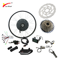 JS 48V 1000W Electric Bike Kit for Mountain Bike LCD 26 700C 48V 1000W Hub Motor Electric Motor for Bicycle Free Shipping CE