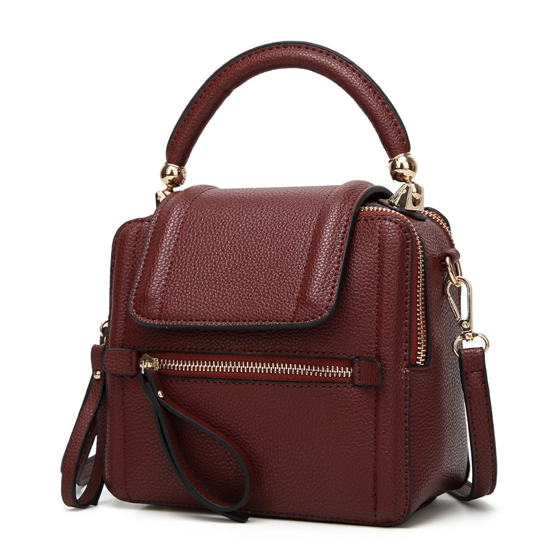 High Quality Women's Genuine Leather Handbags Fashion Shoulder Bags Ladies Messenger Bag Vintage Women Flap Bags недорго, оригинальная цена