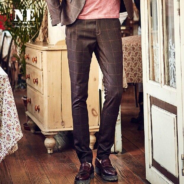 Popular Brown Plaid Pants-Buy Cheap Brown Plaid Pants lots from ...