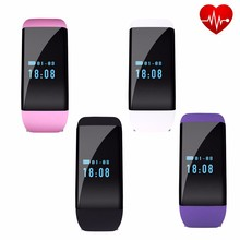 Bluetooth Smart Wristband D21 Sport Smartband Heart Rate Pedometer Fitness Tracker Bracelet For Android IOS NFC Call Reminder