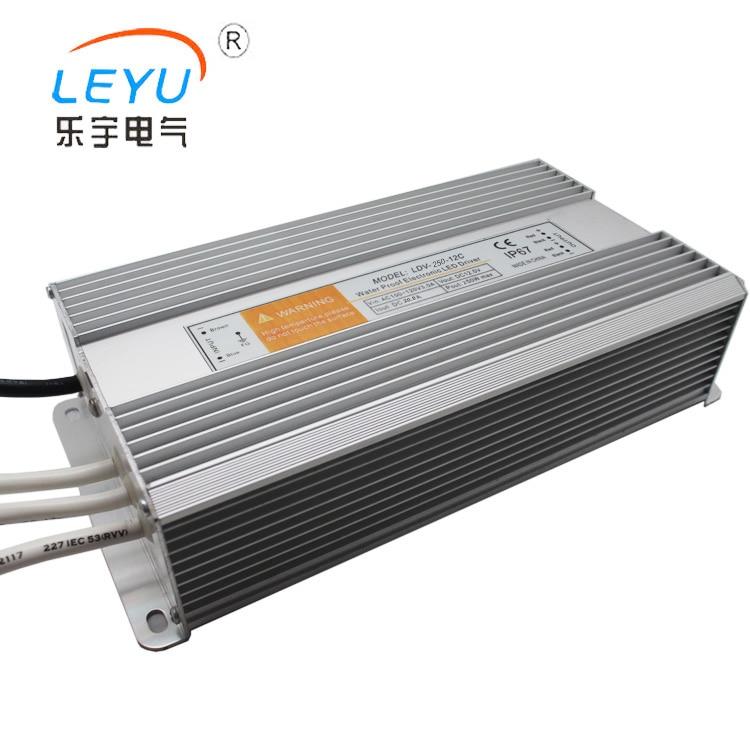 все цены на 2 years warranty waterproof 250w 12v power supply high quality fast delivery 12v 20.8a IP67 transformer онлайн